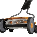 push reel lawn mower