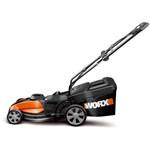 WORX WG787 17-Inch 24-Volt Cordless Lawn Mower with IntelliCut