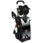 All Power 2000 PSI Electric Stainless Steel Pressure Washer with Hose Reel
